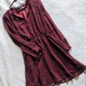 BB Dakota Wine Dress